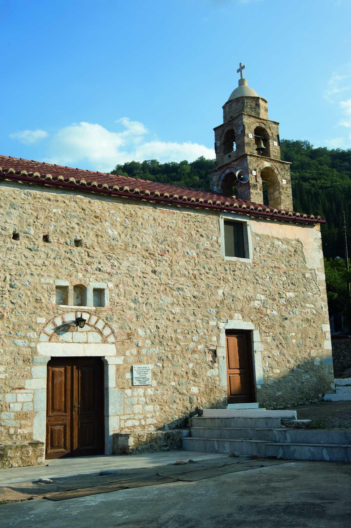 Άγιος Ιωάννης Λακωνίας, εκκλησία