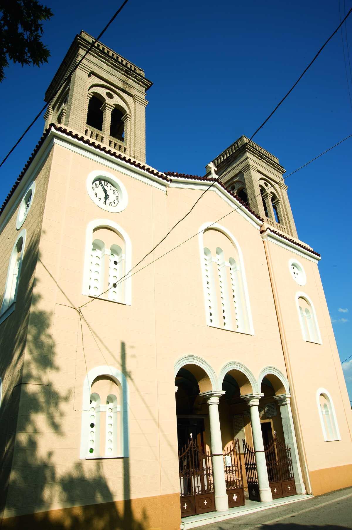 Ναός στον Άγιο Ιωάννη Λακωνίας