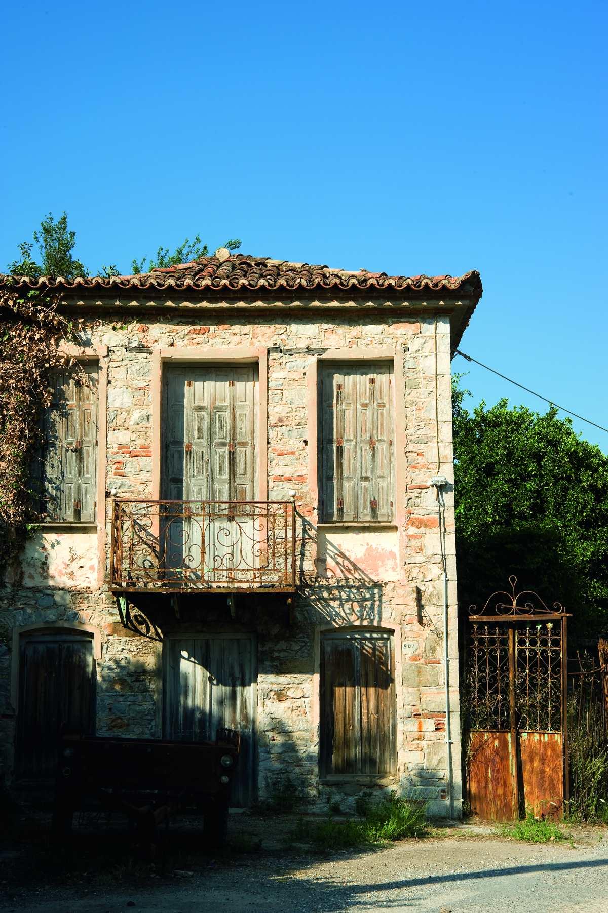 , παλιό σπίτι