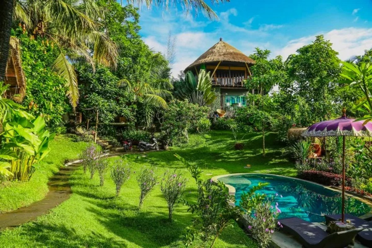 airbnb top10 λίστα σπιτιών Μπαλί Ινδονησία με πισίνα
