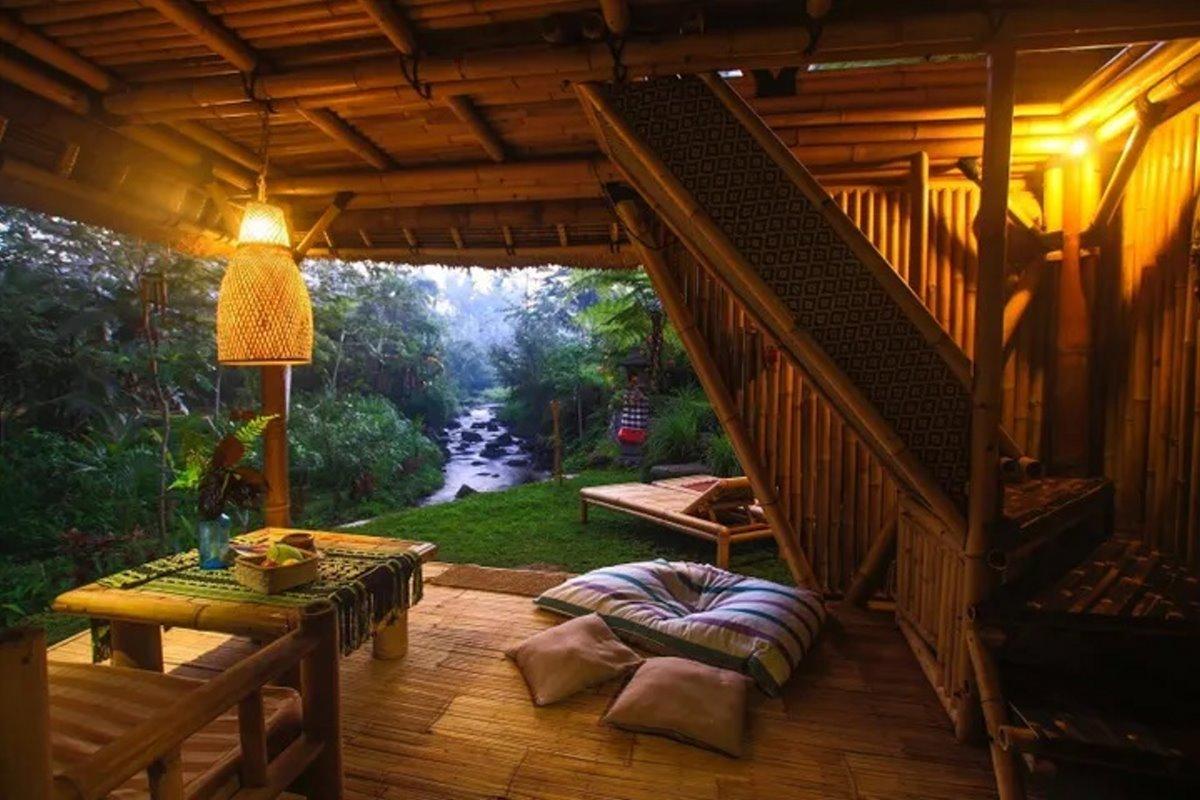 airbnb top10 λίστα σπιτιών Δεντρόσπιτο Μπαλί Ινδονησία