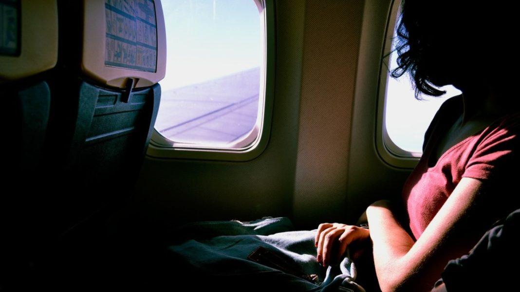 Κατά τη διάρκεια πτήσης