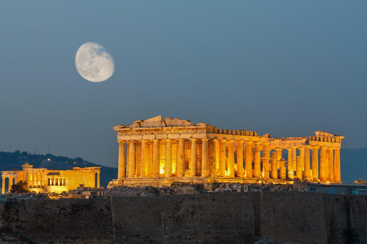 Παρθενώνας Ακρόπολη το ηλιοβασίλεμα 5 αλήθειες που αγνοείτε