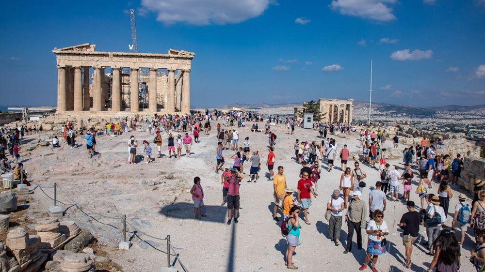 Ακρόπολη τουρίστες