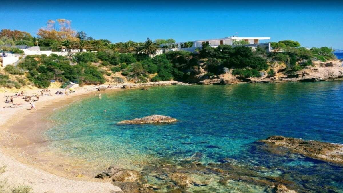 παραλία Αλθέα κοντά Αθήνα