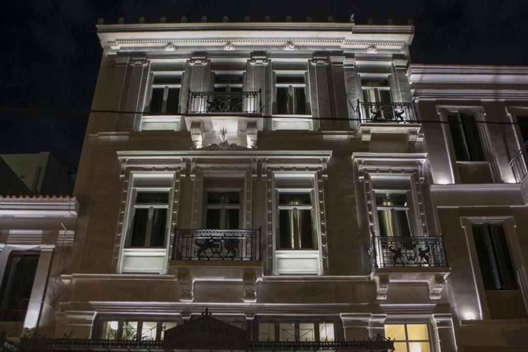 athens 1890 boutique hotel Αθηνα πρόσοψη