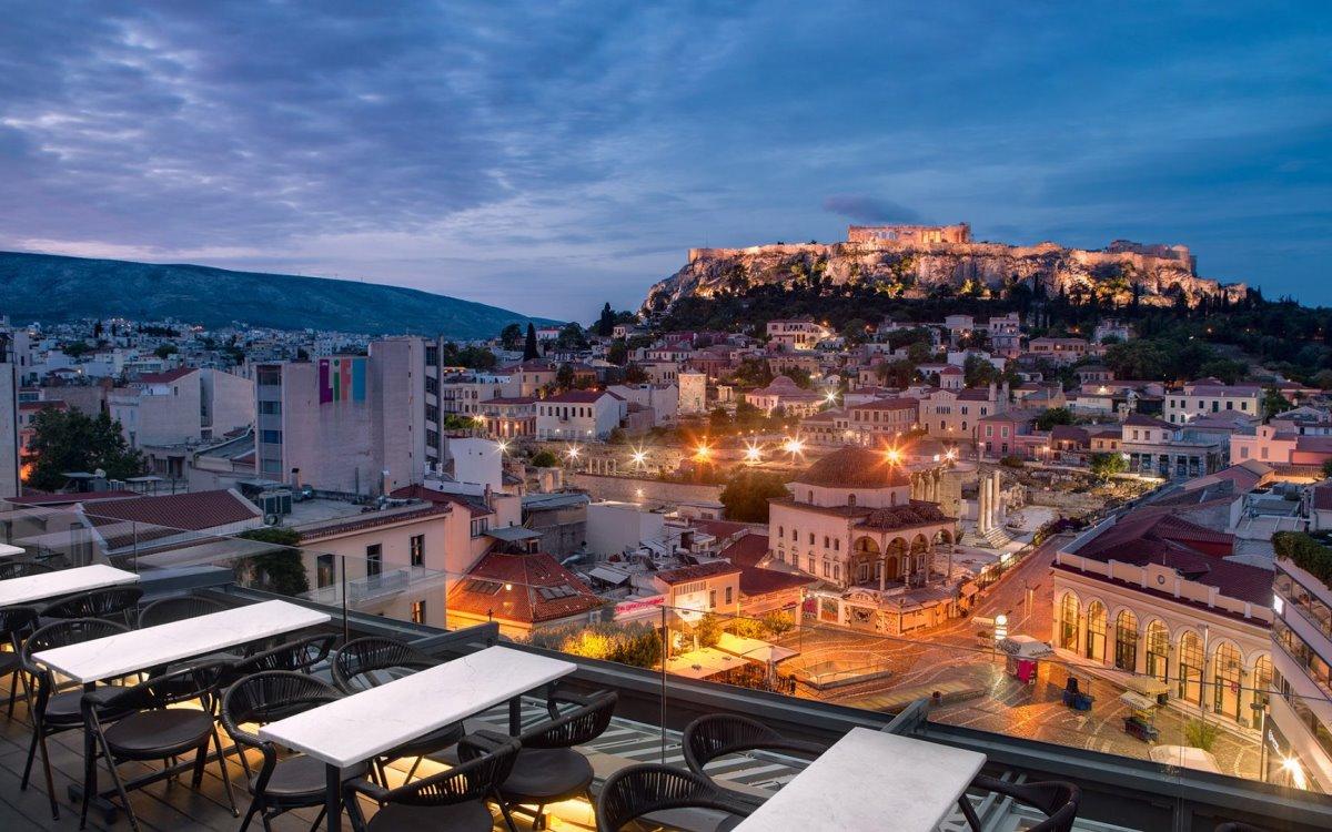 Μπαράκια Αθήνα A for Athens