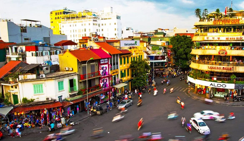 Ανόι Βιετνάμ κεντρικός δρόμος