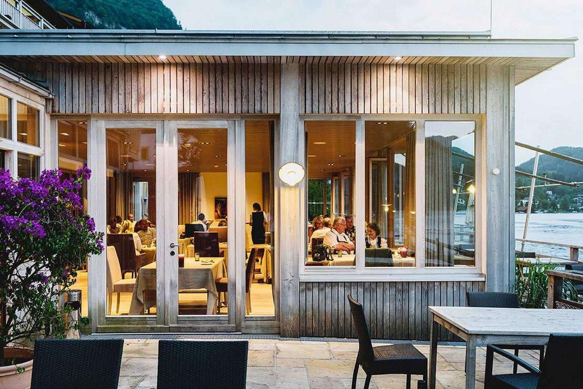 Bootshaus, Αυστρία στα 5 απομακρυσμένα εστιατόρια τραπεζαρία