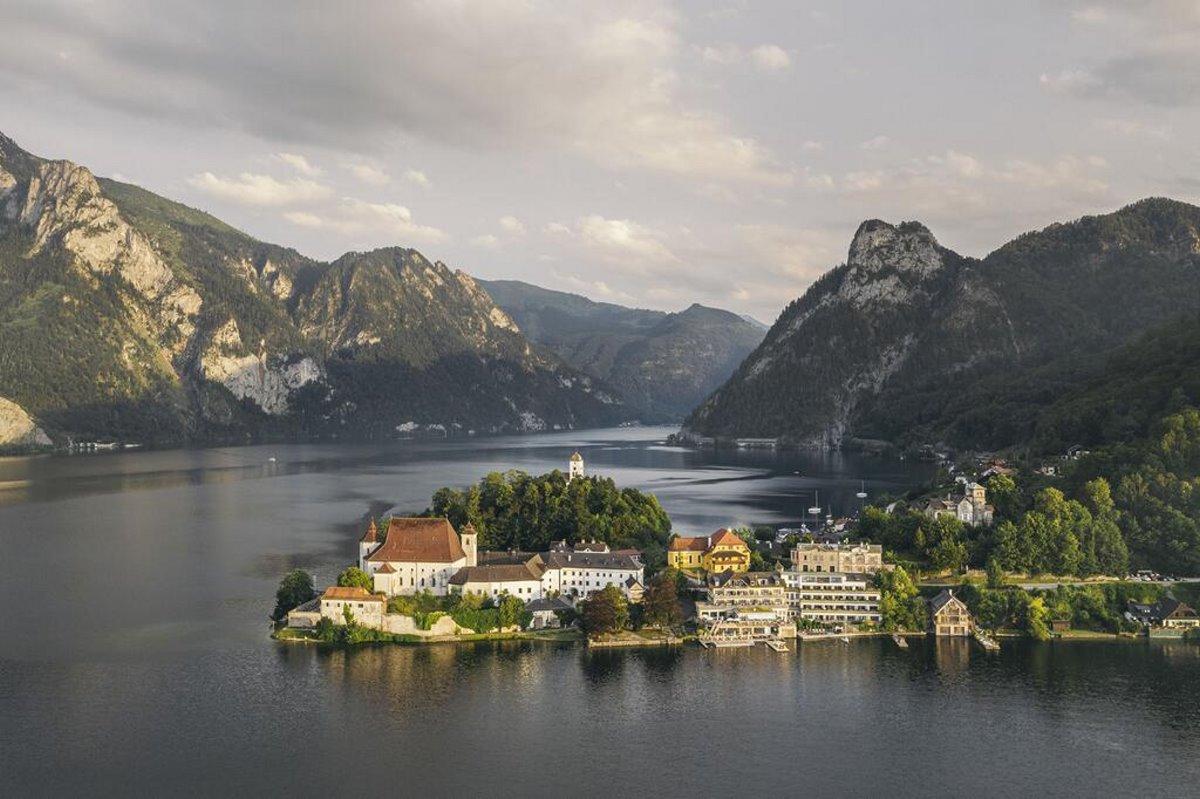 Bootshaus, Αυστρία στα 5 απομακρυσμένα εστιατόρια πανοραμική άποψη