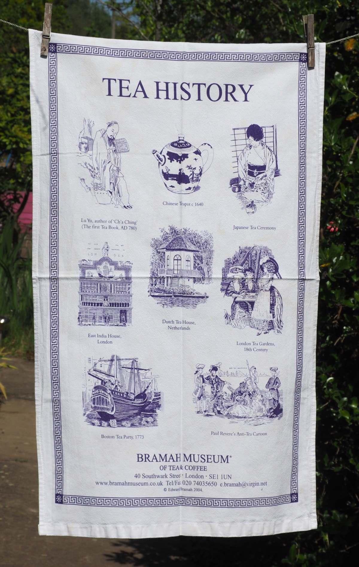 Μουσείο τσαγιού & καφέ, Λονδίνο, η ιστορία του τσαγιού σε εικόνα