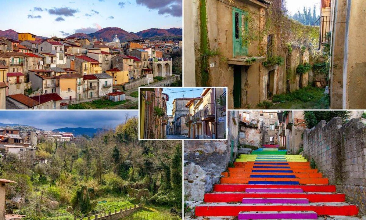 Cinquefronti χωριό πωλείται για 1 ευρώ όμορφες εικόνες από διάφορα σημεία