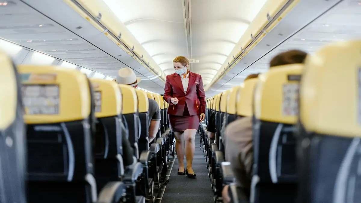 covid μελέτη ασφαλές ταξίδι με αεροπλάνα ροή αέρα εσωτερικό καμπίνας