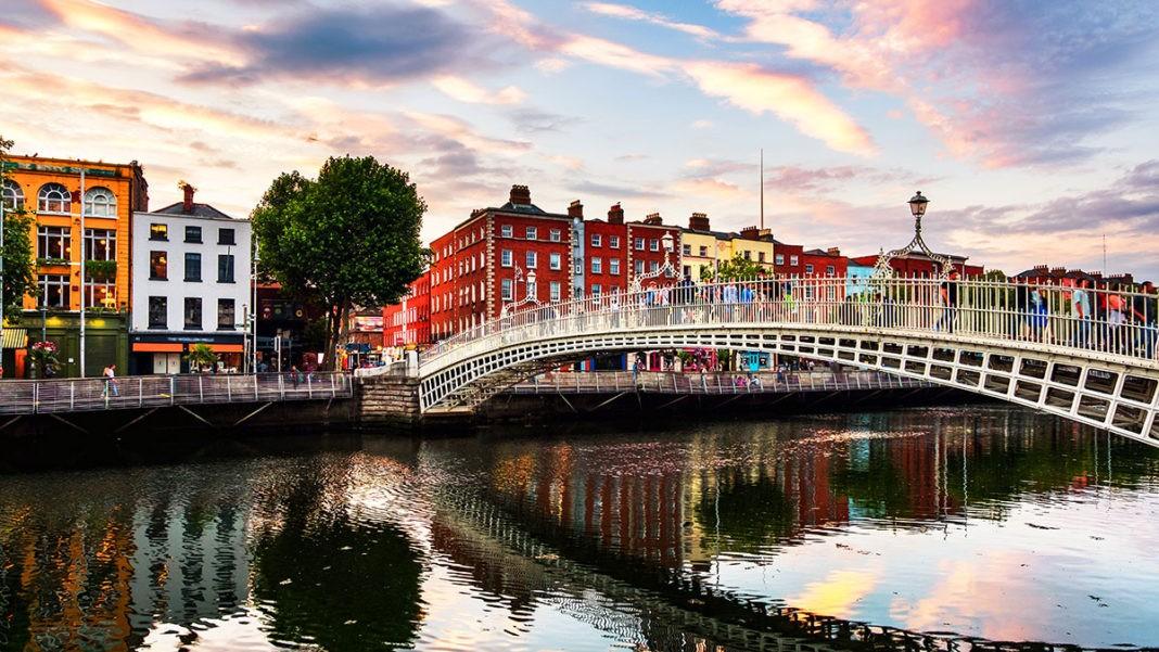 Δουβλίνο φτηνή πτήση Ryanair πανοραμική πόλης