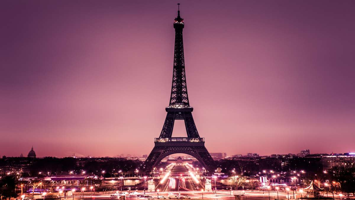 Πύργος Άιφελ νύχτα