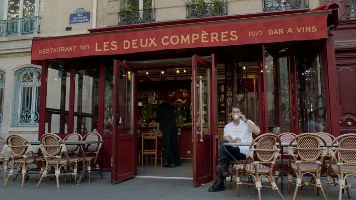 Emily in Paris εστιατόριο στο Παρίσι γυρίσματα είσοδος