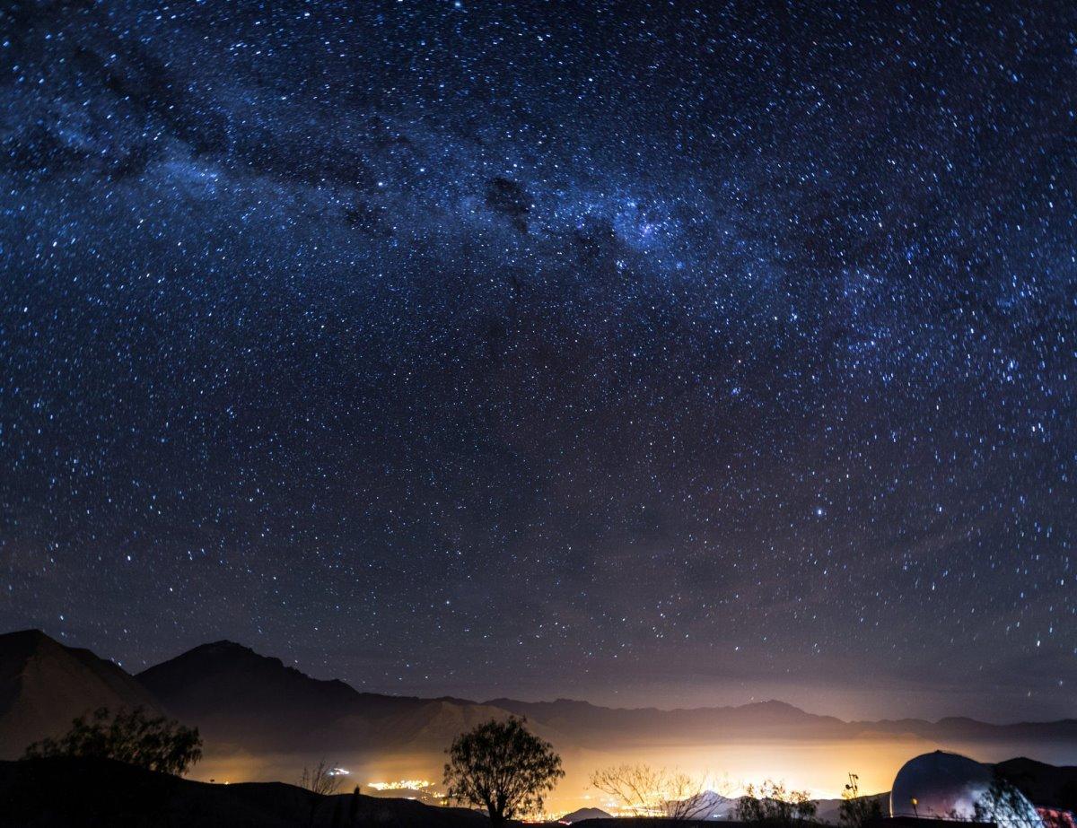 Κύπρος έναστρος ουρανός τοπίο