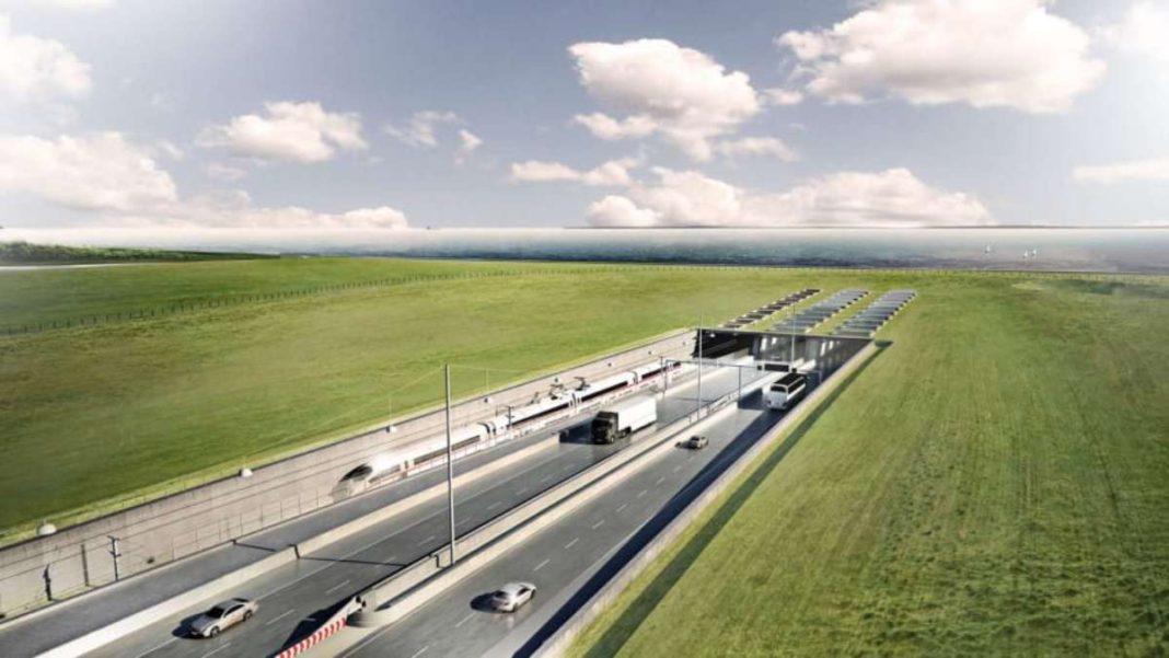 μεγαλύτερη σήραγγα στον κόσμο οδική & σιδηροδρομική πανοραμική