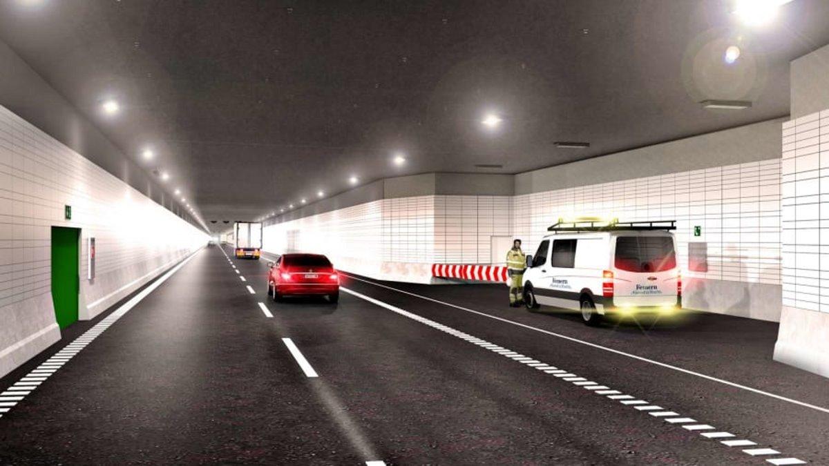 μεγαλύτερη σήραγγα στον κόσμο οδική & σιδηροδρομική λωρίδες κυκλοφορίας