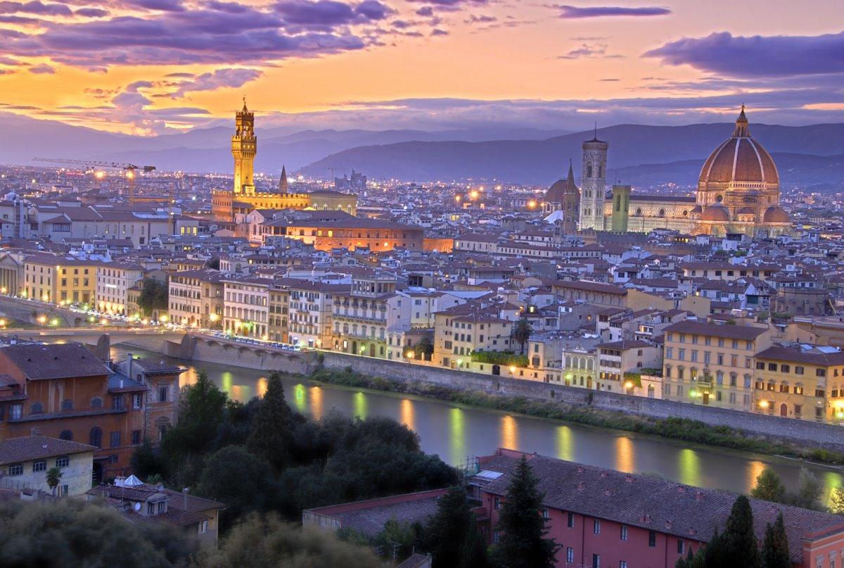 Φλωρεντία Ιταλία καλύτερη μικρότερη πόλη