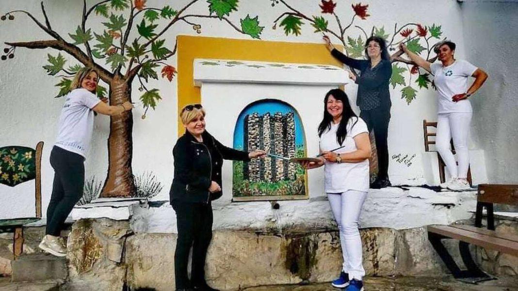 γαλάτιστα χωριό χαλκιδικής ζωγραφική