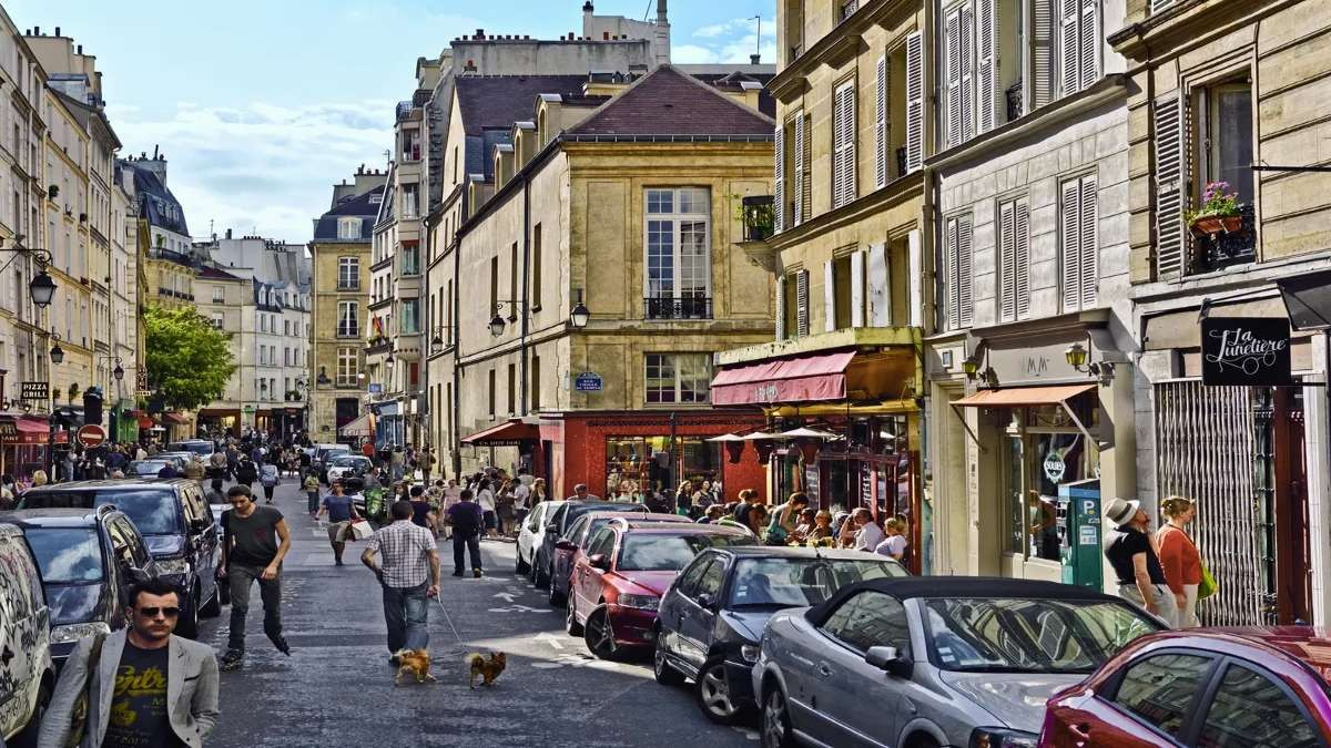 Haut-Marais Παρίσι όμορφες γειτονιές σοκάκι