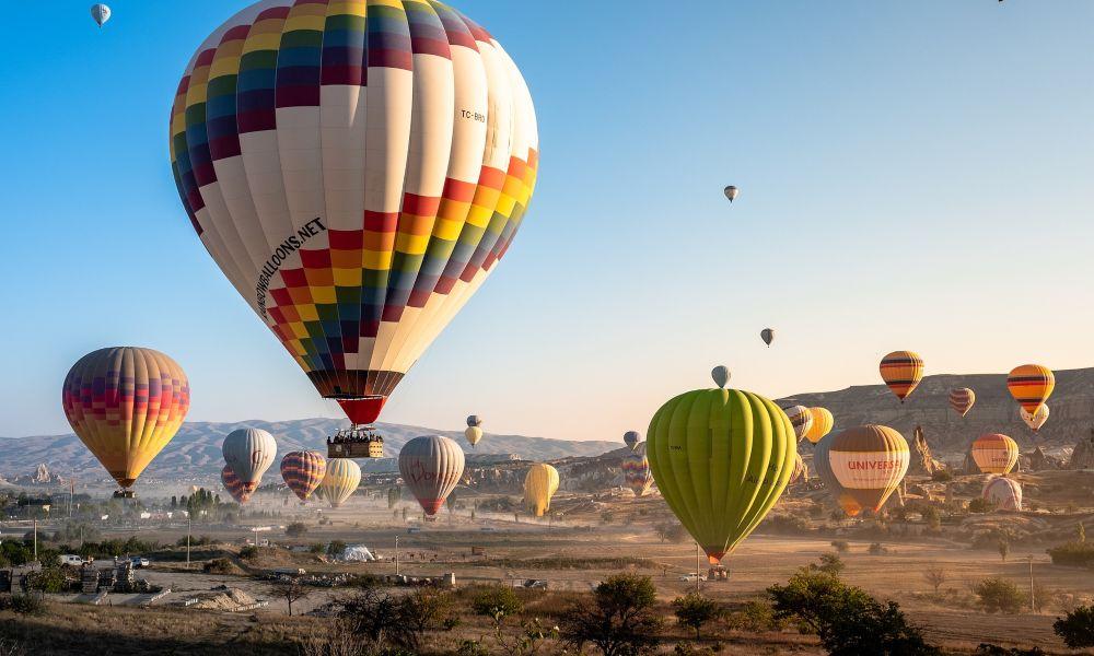 καππαδοκία αερόστατα τουρκία