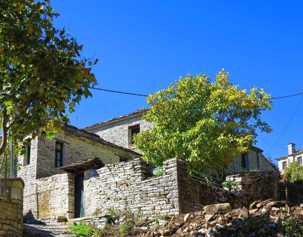 Βραδέτο μπαλκόνι Ζαγορίου πέτρινα σπίτια