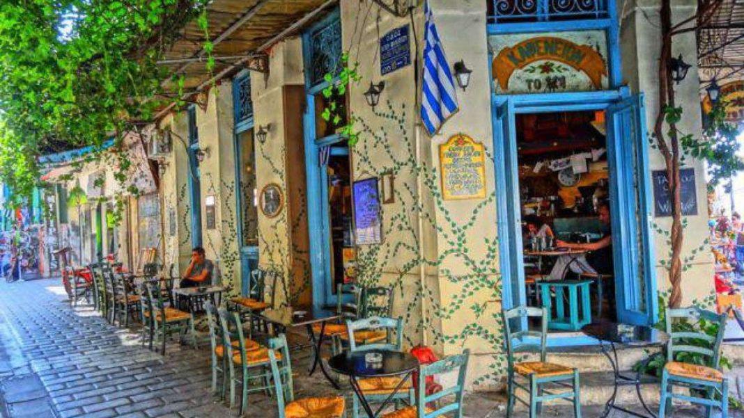 καφενείο Αθήνα εξωτερική όψη