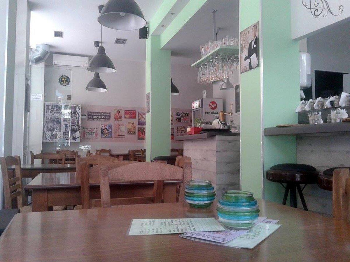 καλύτερα καφενεία Θεσσαλονίκης Ζαφ εσωτερικός χώρος