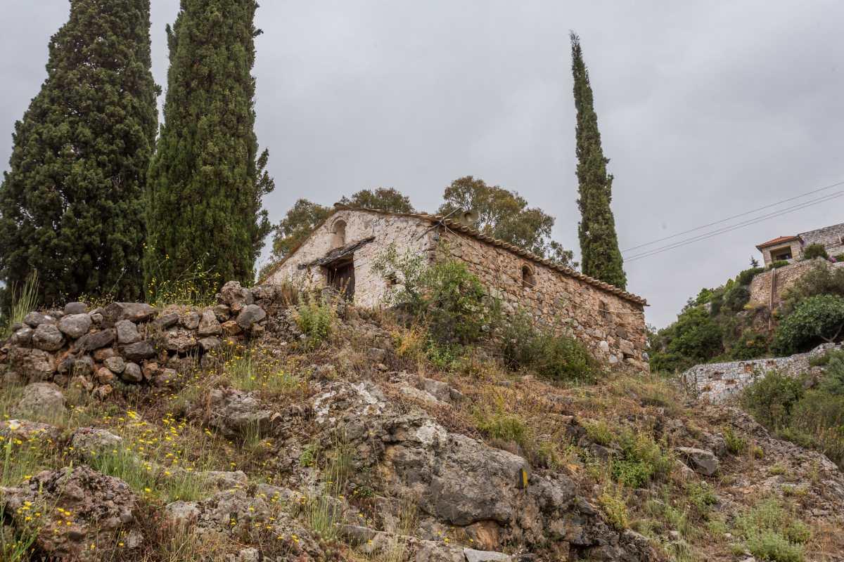 Καρδαμύλη, χαρακτηριστικά σημεία του χωριού