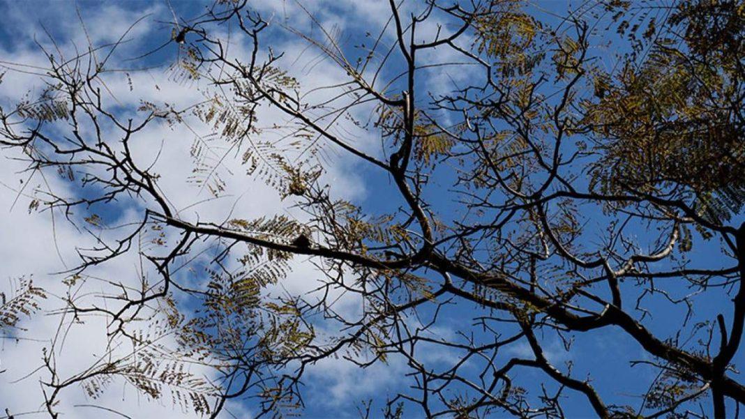 Καιρός 14-10 αίθριος με ήλιο και σύννεφα καθαρός ουρανός