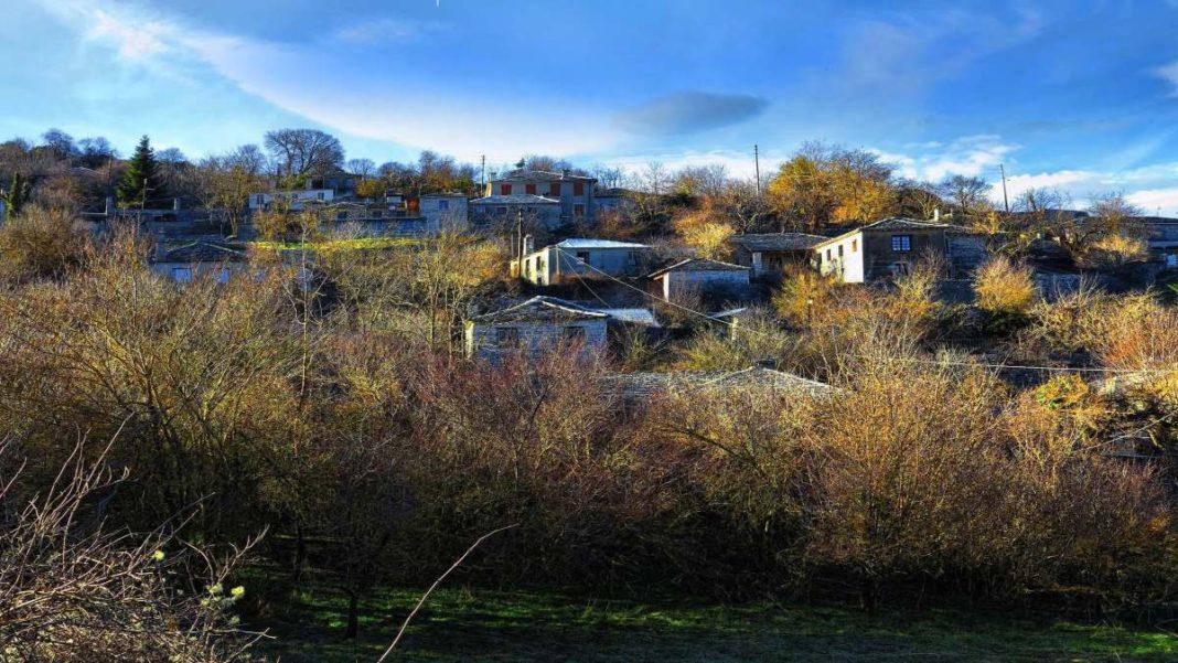 Κάτω Πεδινά Ζαγόρι πανοραμική χωριό