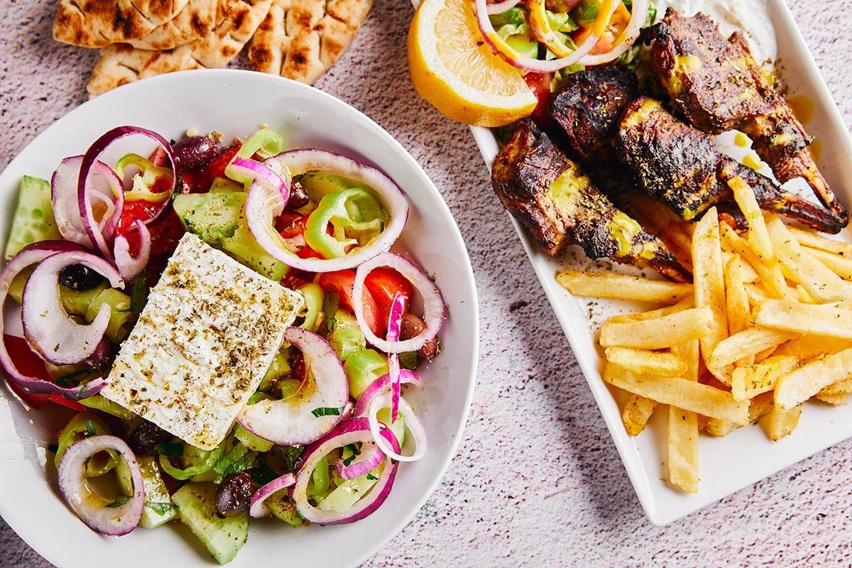 ιστορική ταβέρνα Αθήνα Κληματαριά φαγητά