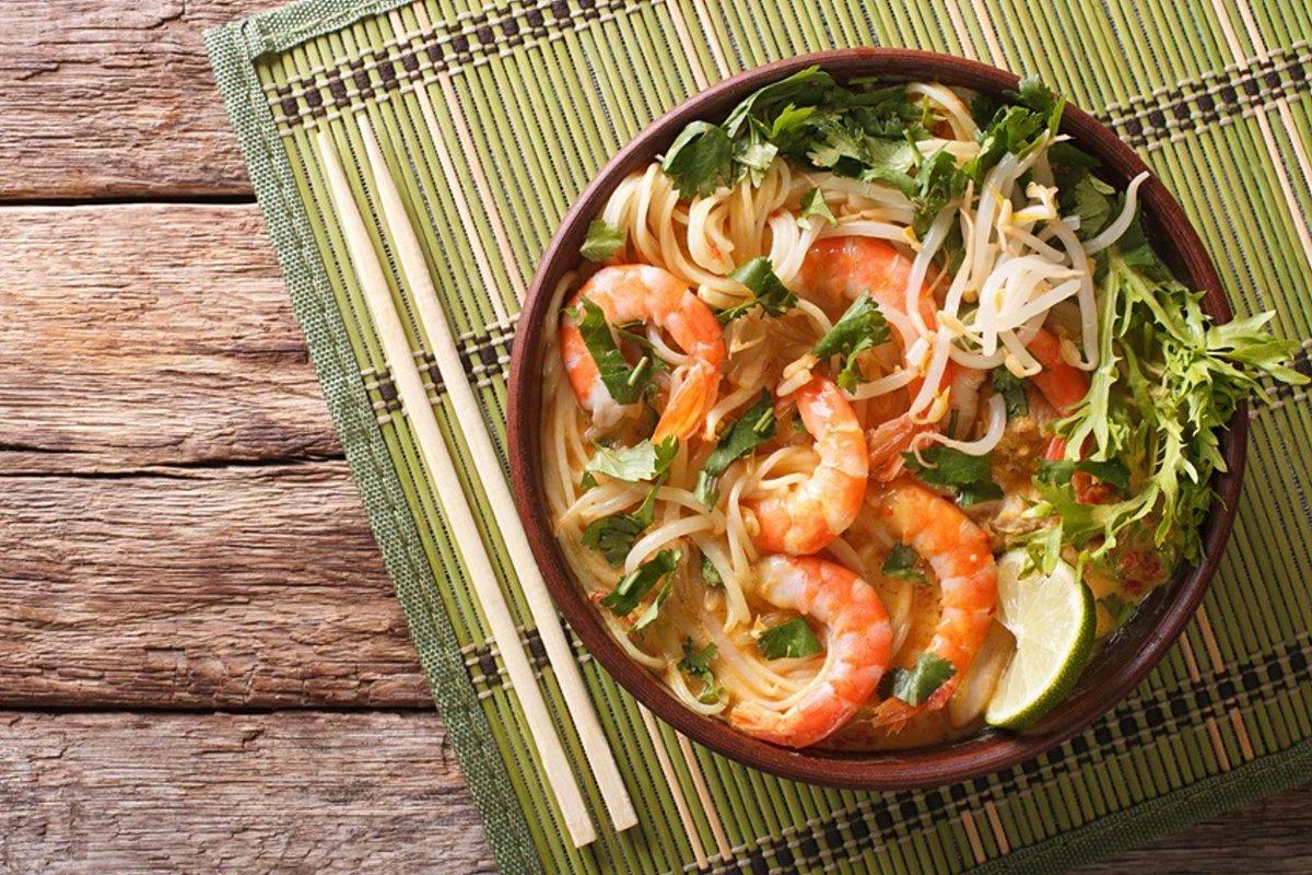 Curry laksa top εμπειρία φαγητού