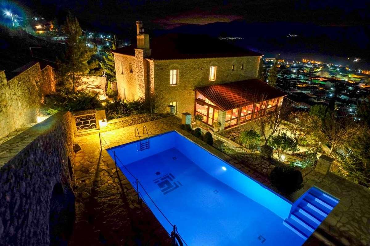 Kyriaki Guesthouse, πισίνα
