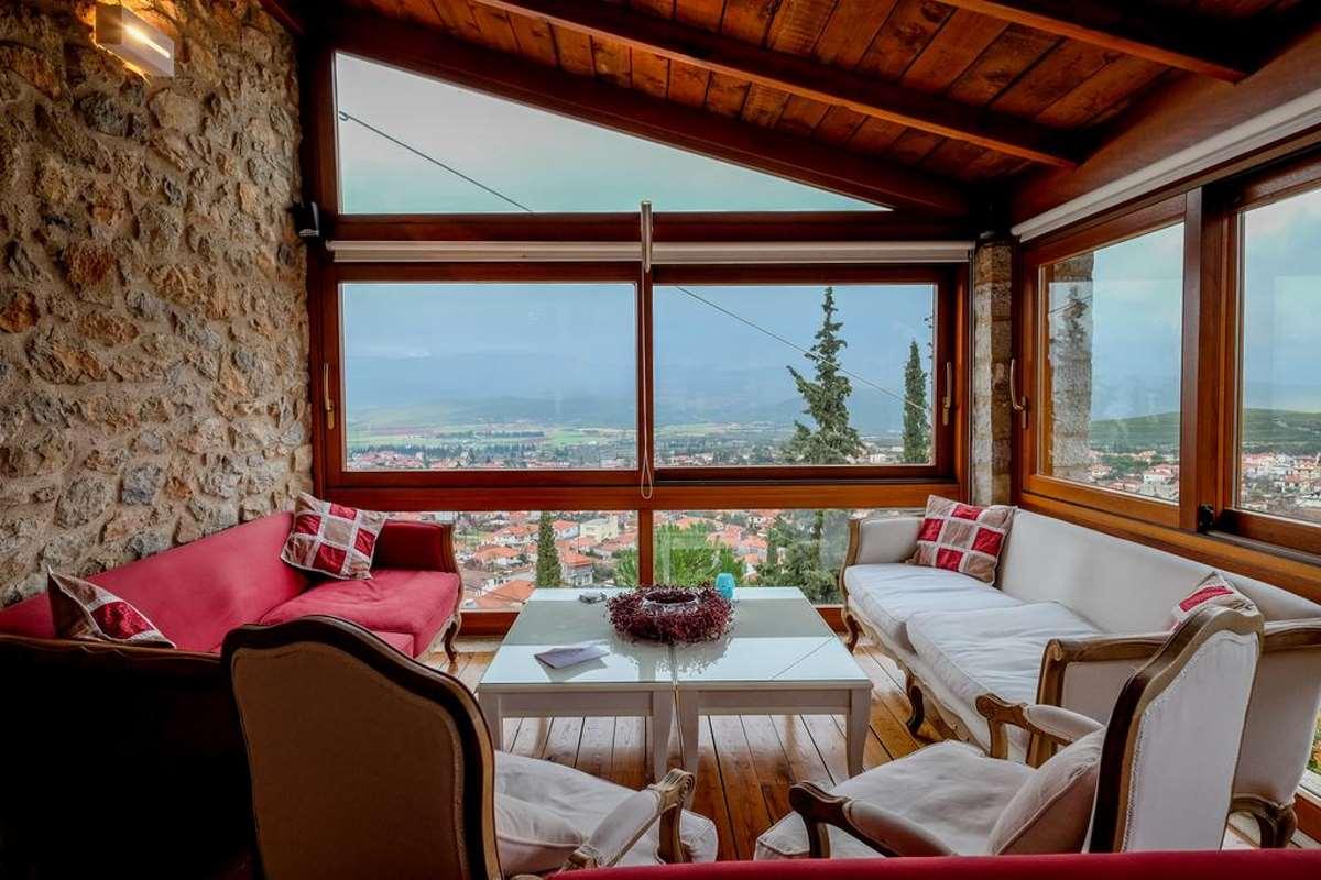 Kyriaki Guesthouse, θεά από αίθουσα πρωινού