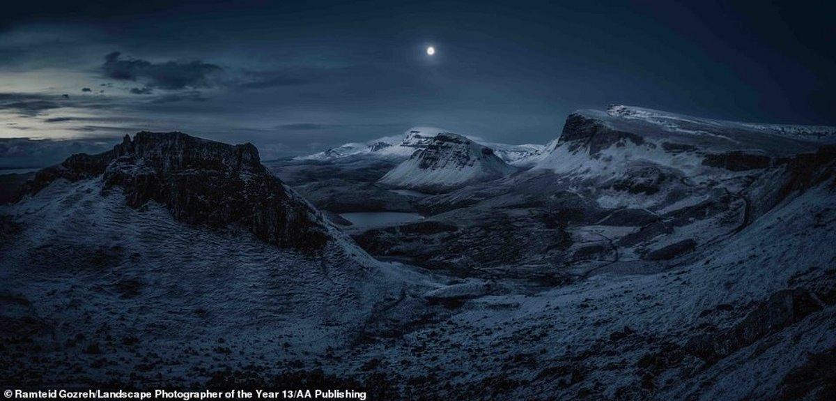 φωτογραφία φύση διαγωνισμός χιονισμένα βουνά