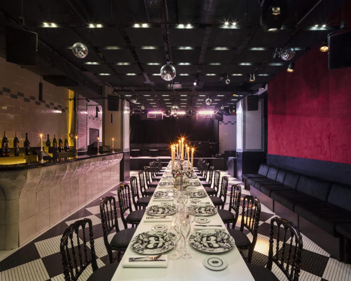 Le Bain ξενοδοχείο παρίσι τραπεζαρία εστιατόριο