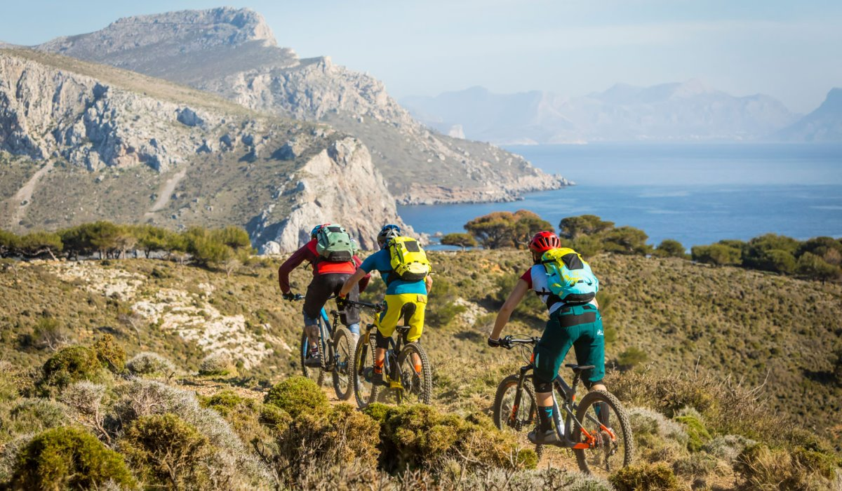 Λέρος ποδηλατικός προορισμός ποδηλάτες βουνό