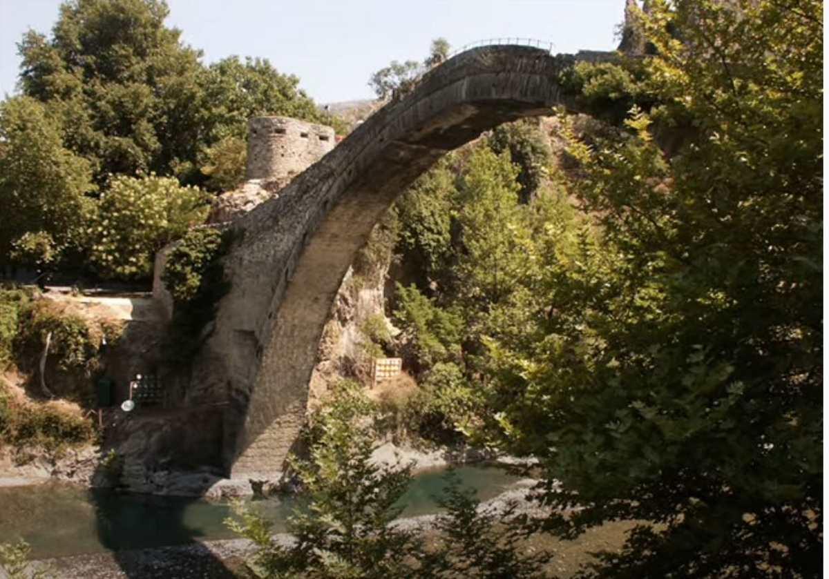 Μαστοροχώρια, πέτρινο γεφύρι