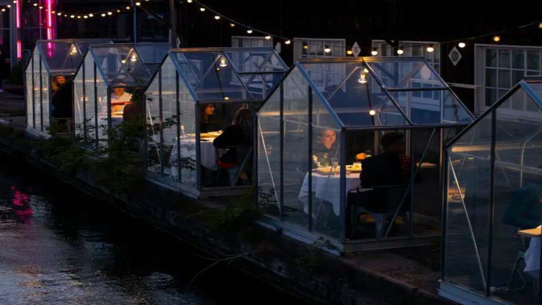 Εστιατόριο για τον χειμώνα Mediamatic Αμστερνταμ