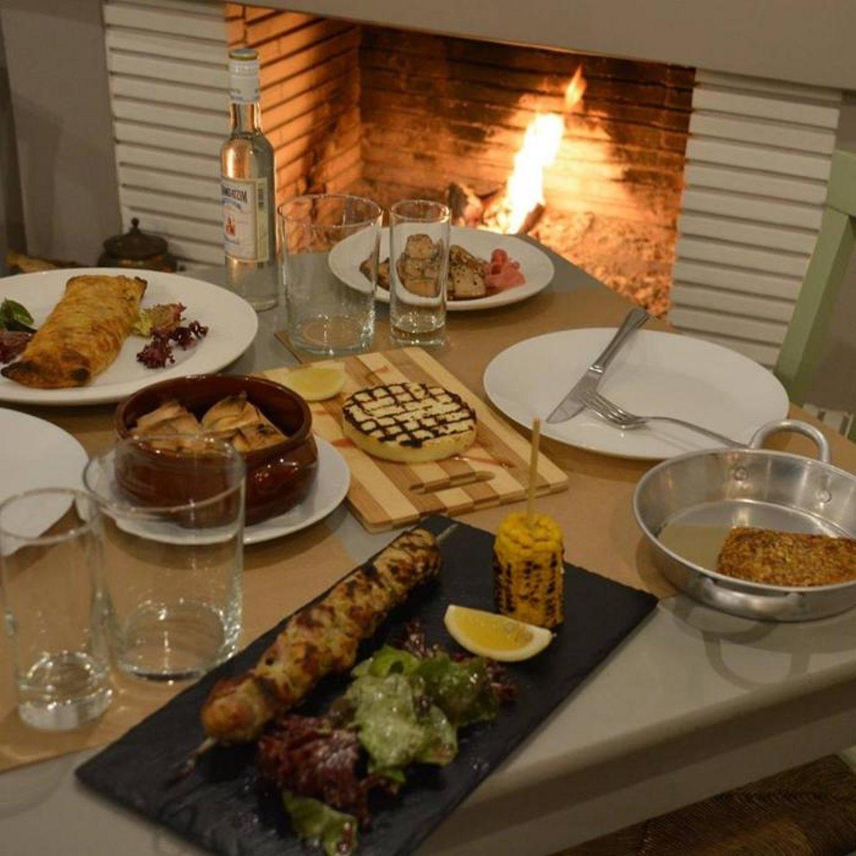 Ταβέρνα Μονοκατοικία Αθήνα φαγητό