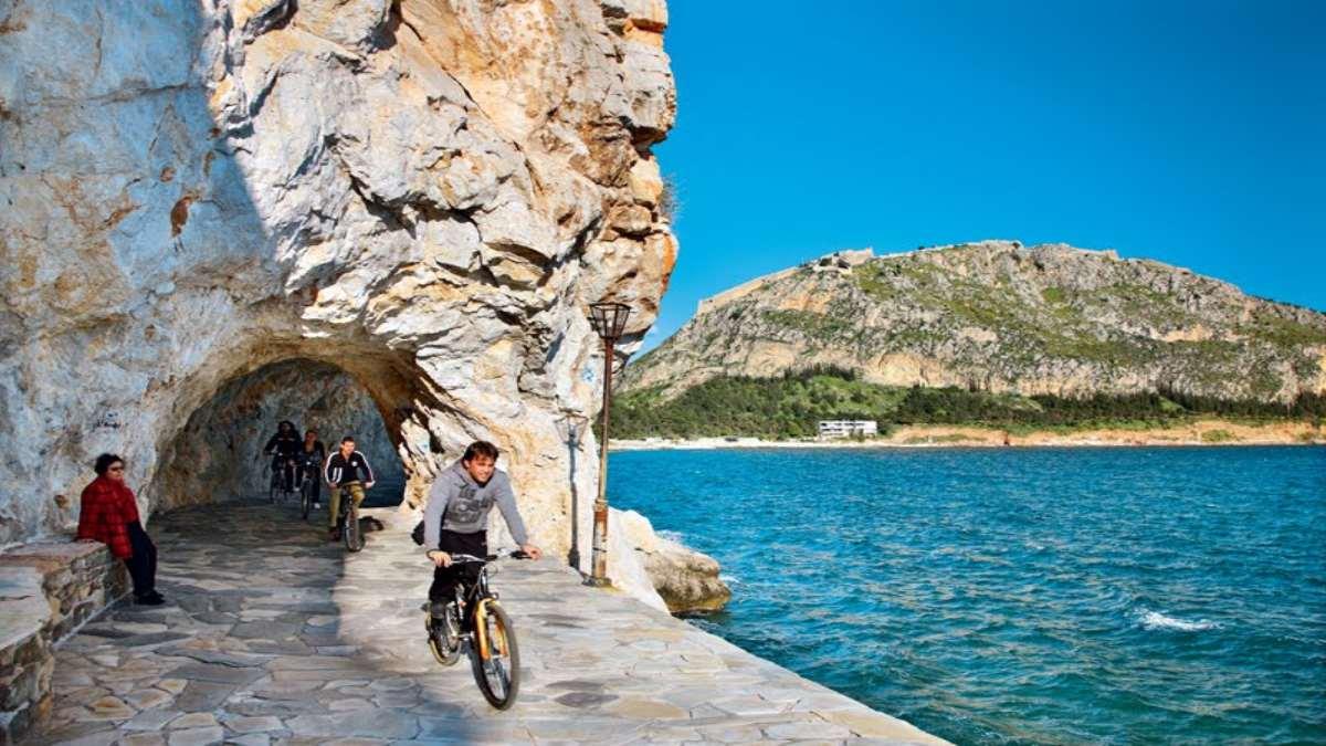 ναύπλιο ποδηλατάδα αρβανιτιά