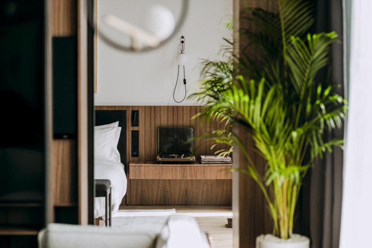 Nobu luxury ξενοδοχείο στη Βαρσοβία του De Niro δωμάτιο