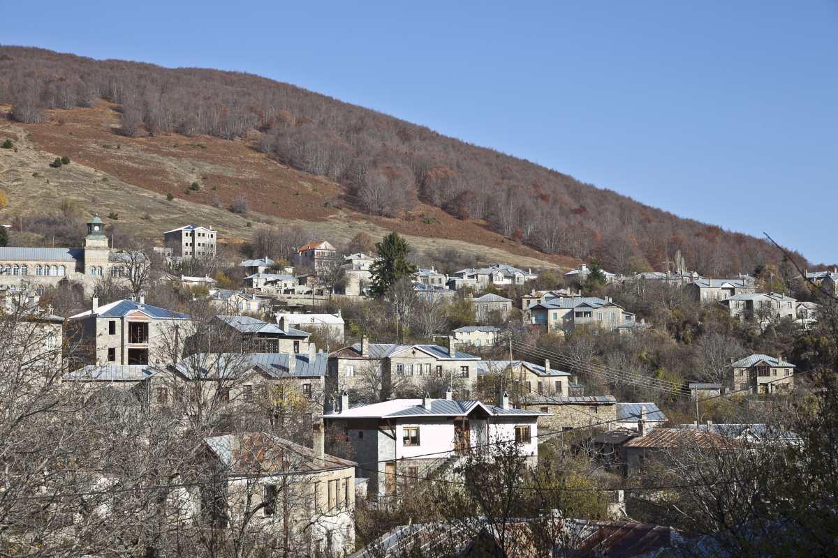 Νυμφαίο, πανοραμική άποψη του χωριού