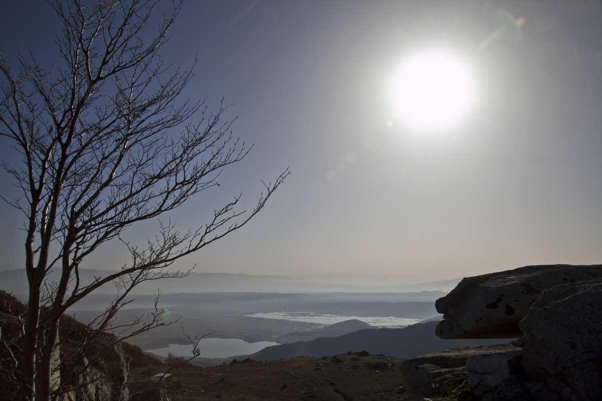 Η θέα από το Νυμφαίο