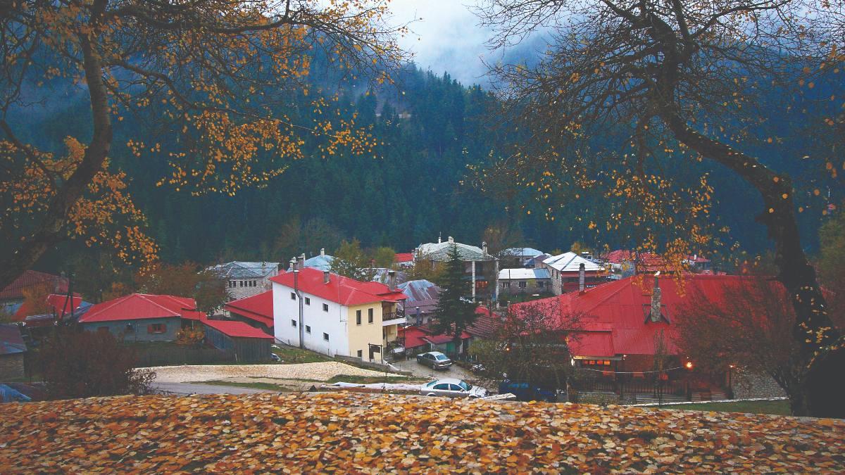 Περτούλι Τρίκαλα ωραιότερα χωριά Ελλάδας