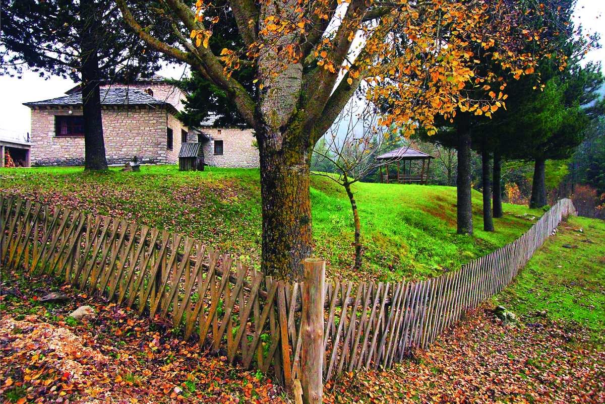 Εικόνες φθινοπωρινές στο χωριό. Περτούλι