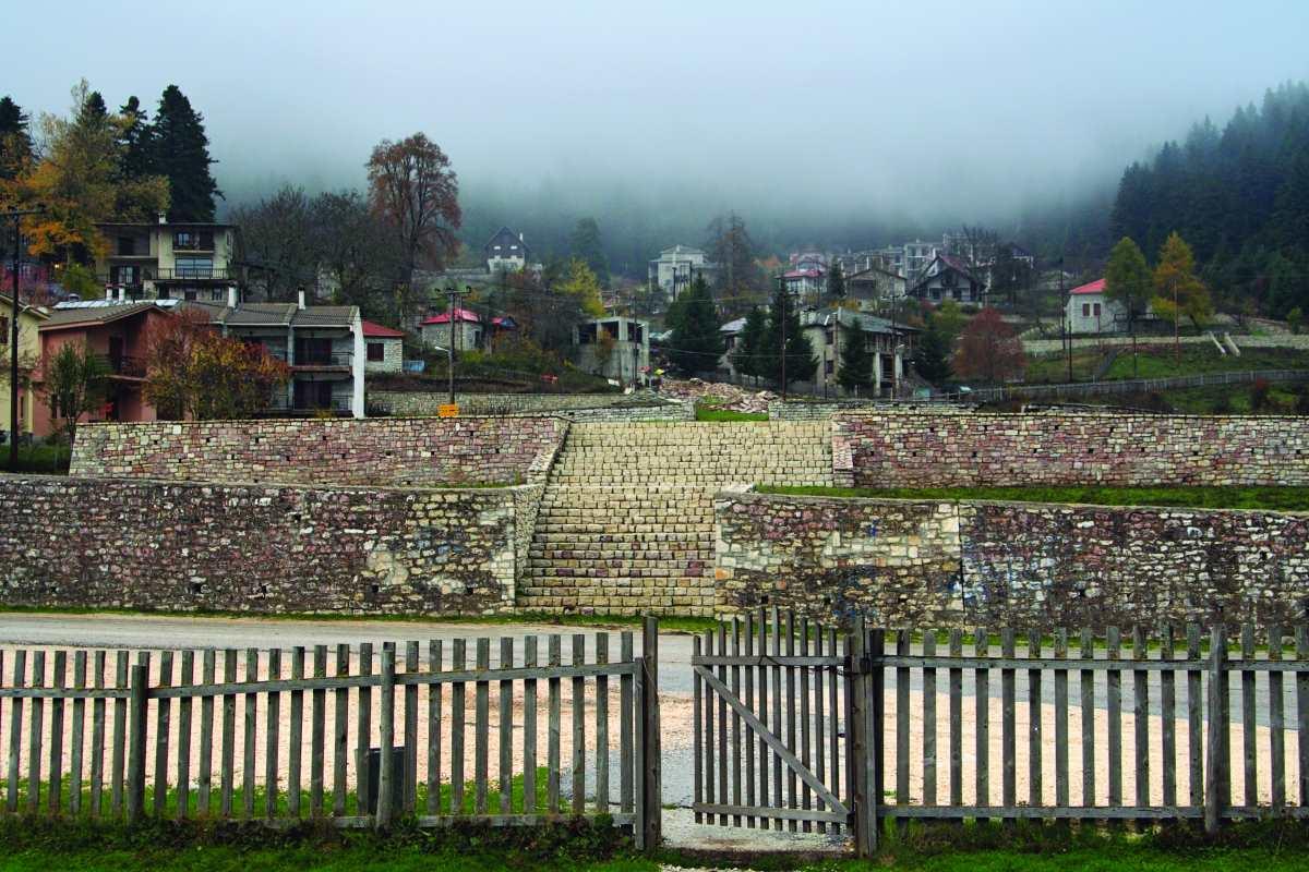 Περτούλι, Τρικάλων, Γενική εικόνα του χωριού